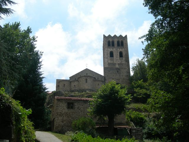 Abbaye St Martin du Canigou