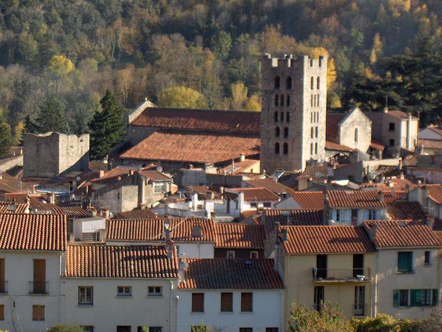 Abbaye Ste Marie d'Arles