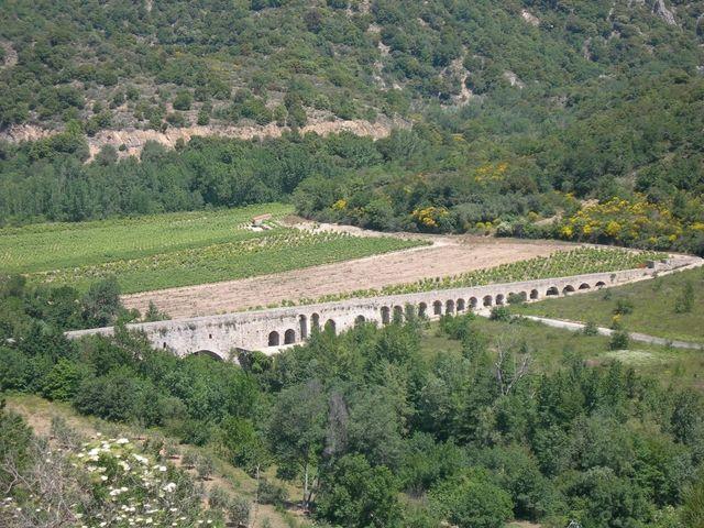 L'aqueduc d'Ansignan