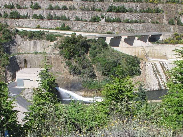 Barrage de Caramany