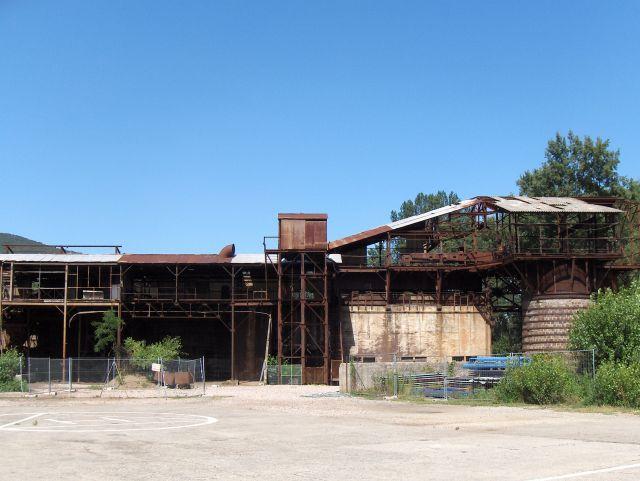 Carreau de la mine d'Arles