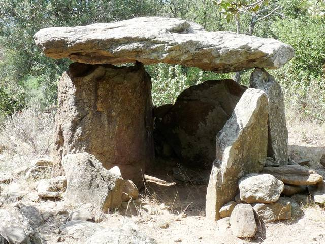 Dolmen du roc de l'Arca