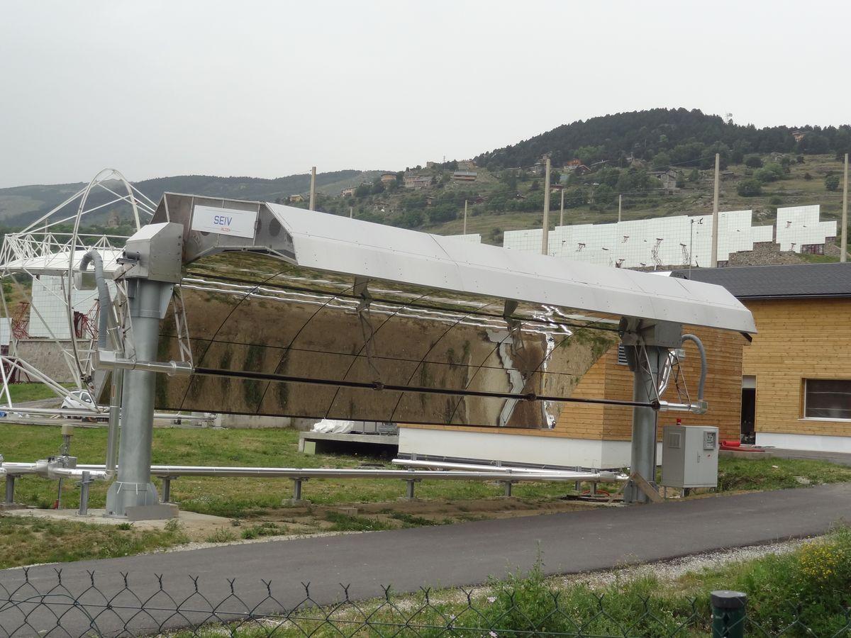 Micro-centrale solaire