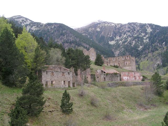 Le site minier de la Pinosa