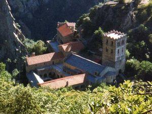 L'abbaye St Martin du Canigou