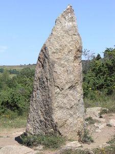 Menhir du Pla del Bosc