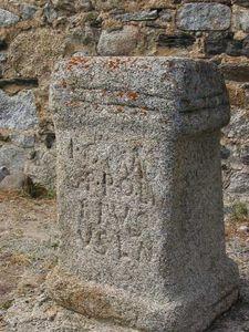 Autel romain d'Angoustrine