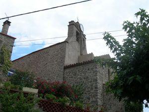 L'église d'Arboussols