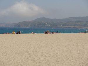 La plage d'Argelès-sur-Mer