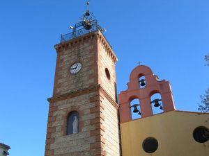 L'église de Bages