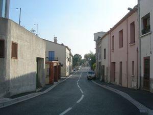 Rue principale de Baho