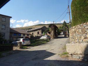 Une rue de Bajande