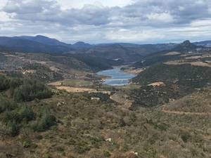 Le lac de Caramany