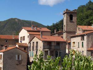 La rue principale de Lamanère