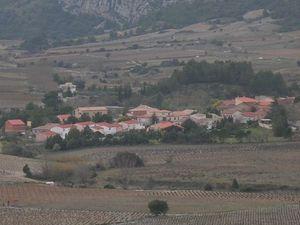 Le village de Vingrau