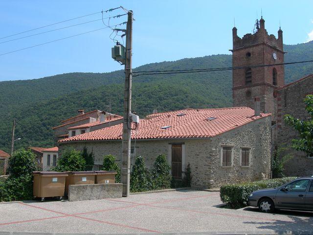 L'église d'Estoher