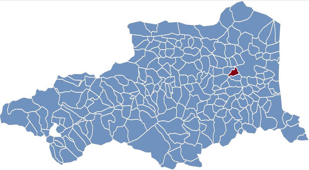 Carte des communes