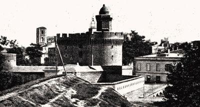Le Castillet et ses remparts