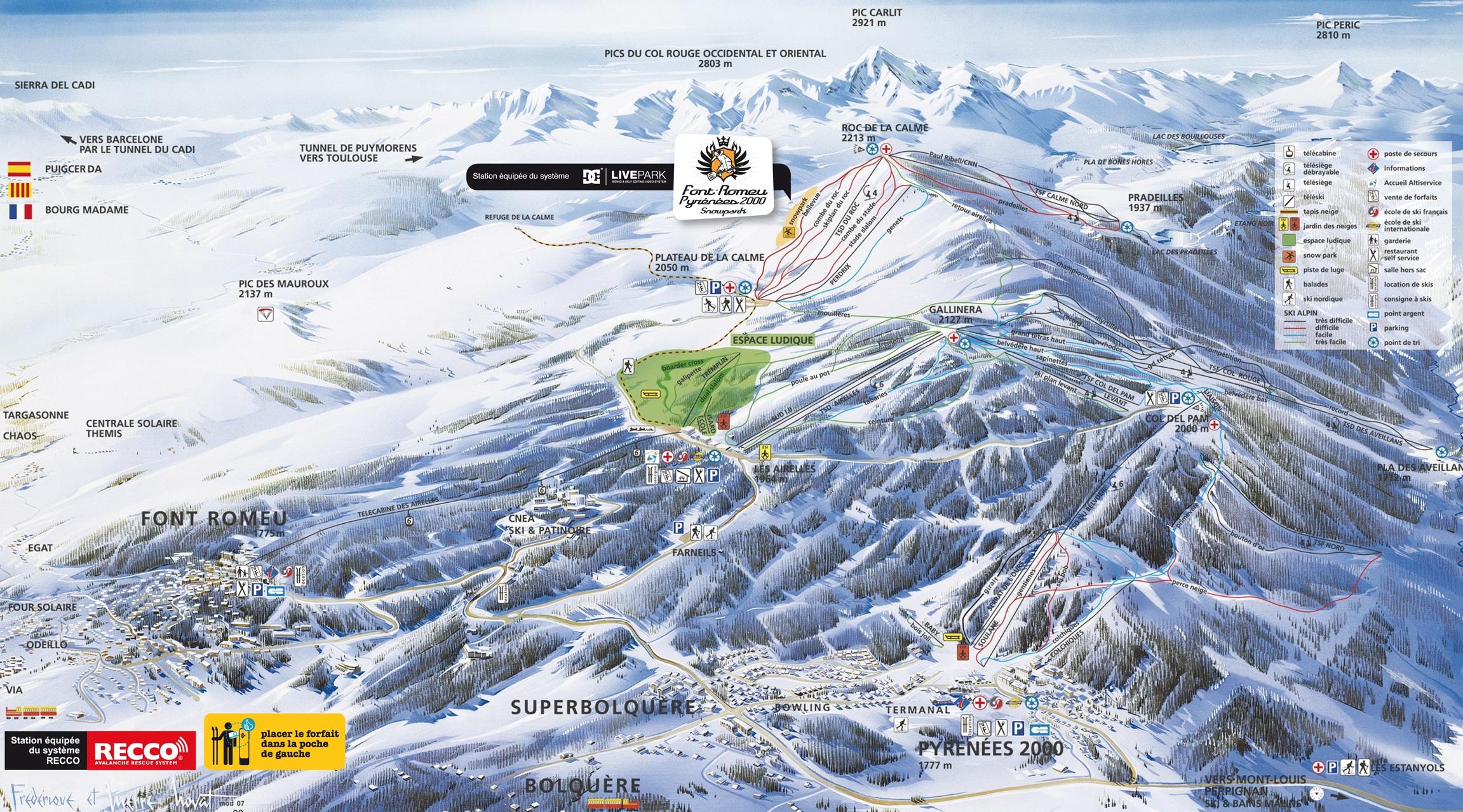 Pistes de Pyrénées 2000